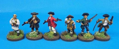 FIW AAC3 Anglo-American Civilians Settlers Defending Command & Characters